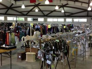 Consignment Tack Sale Barcode Tagging